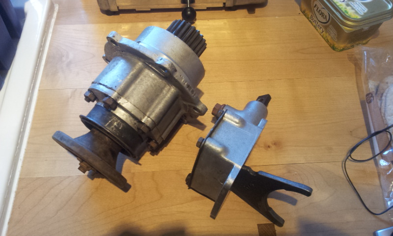 Series Gearbox rear PTO unit