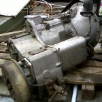 Series IIa full syncro gearbox