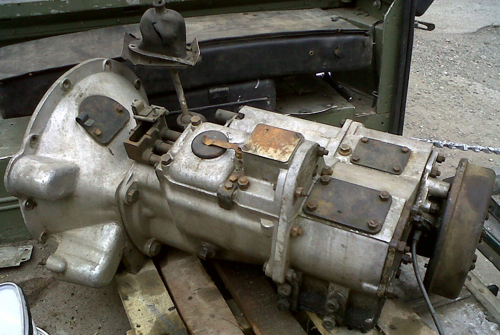 Series IIa full syncro gearbox