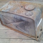 Series Land Rover under seat fuel tank