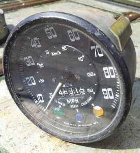 Series Land Rover 109 Speedometer 1408