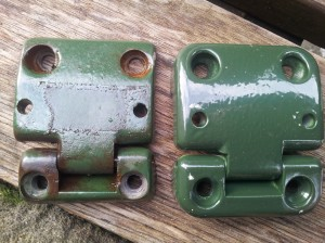 Britpart and genuine door hinges