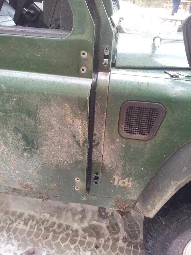 Replacing Door Hinges My Series Iii 109 Land Rover