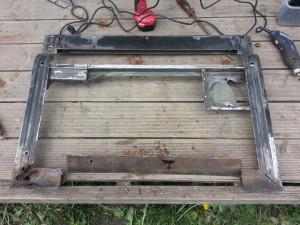 Door bottom frame