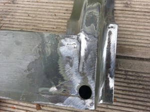 Door Bottom frame repairs