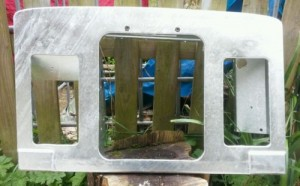 Series Land Rover Galvanised Front Panel