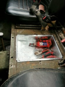 Series Land Rover Under Seat Tool Tray