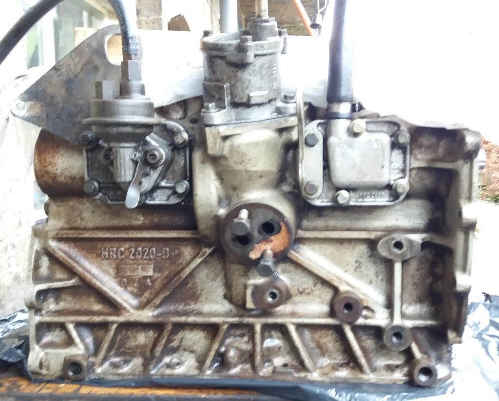HRC2020 Defender engine block 200tdi