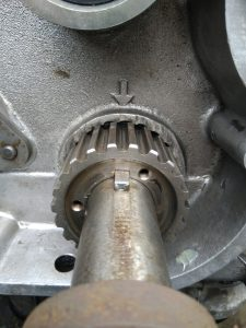200tdi crankshaft timing mark