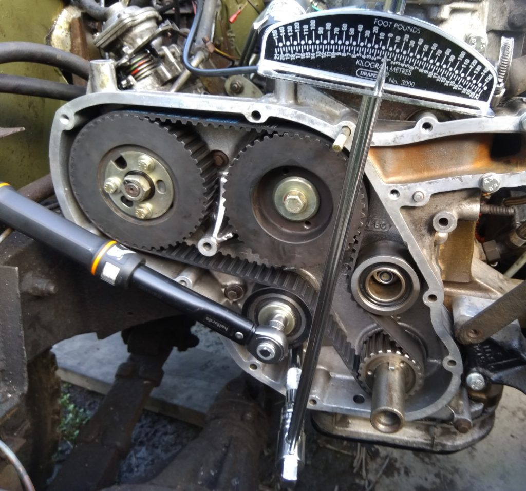 200tdi timing belt torque