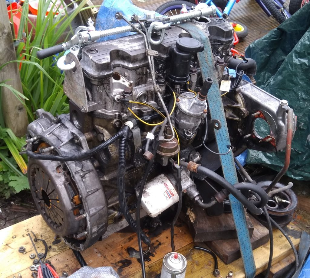 Range Rover 200tdi Engine